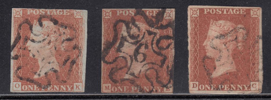 プレーティングに適した切手